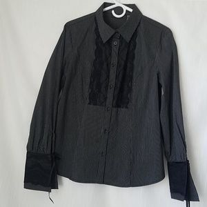 Apostrophe STRETCH Women  Shirt Size S/CH (6/8)